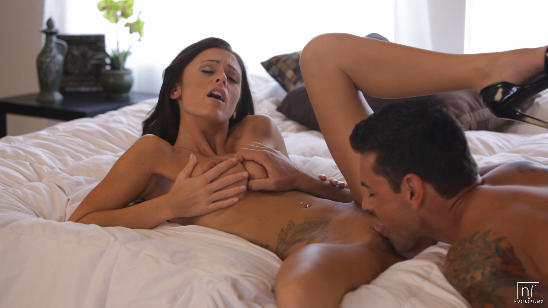 Nubile films whitney and mia blow this lucky guys load 5