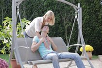 Sassy Blonde Karina Grand Fussy Fucked - Picture 2