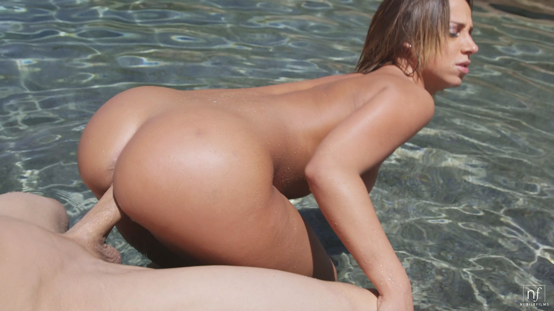 pool side porn