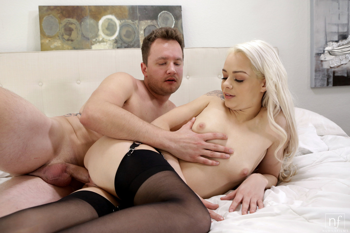 NubileFilms.com - Elsa Jean,Van Wylde: A Little Naughty - S26:E29