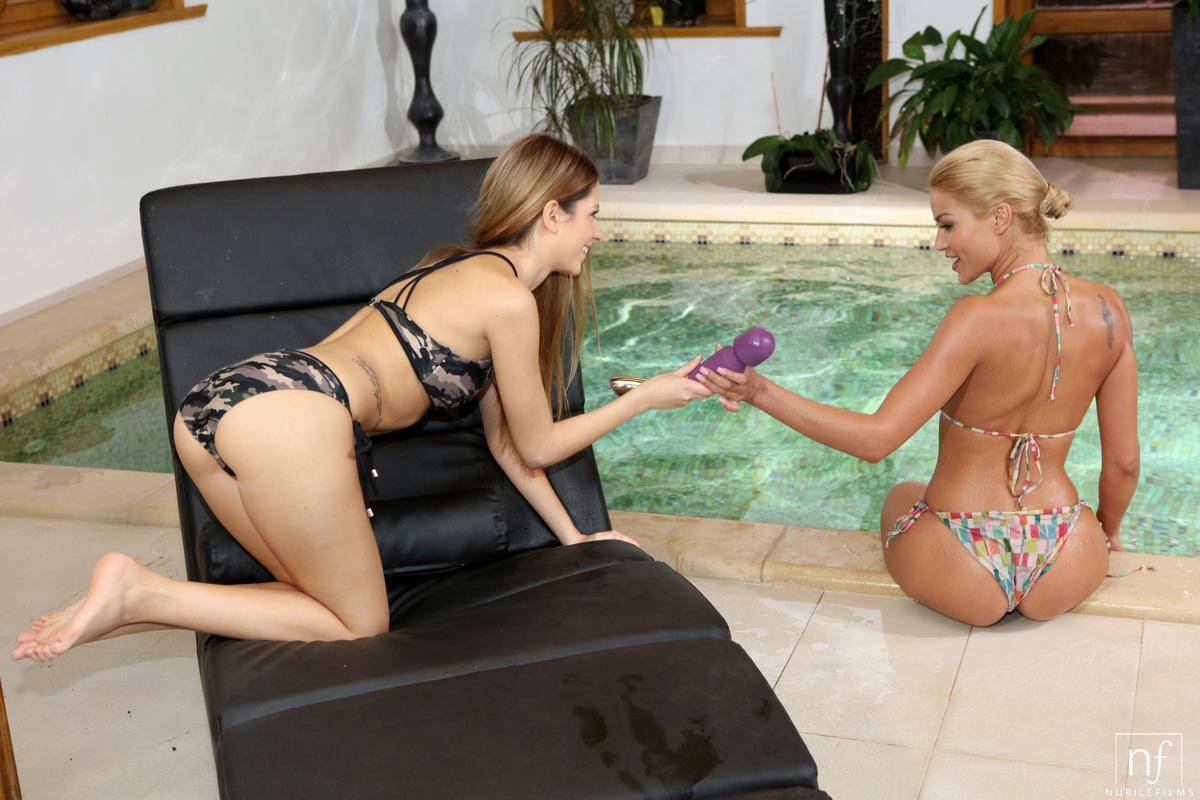 NubileFilms.com - Cherry Kiss,Rebecca Volpetti: Wet Pleasures - S29:E7