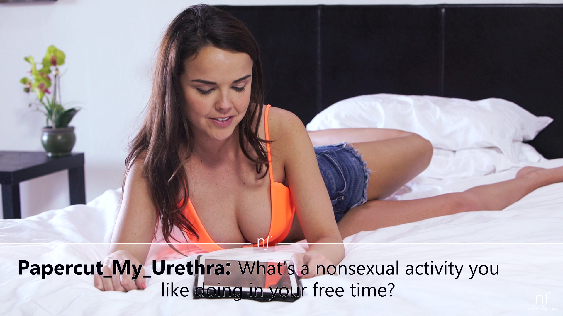 Nubile Films - Ask Me Anything - S15:E16 featuring Emily