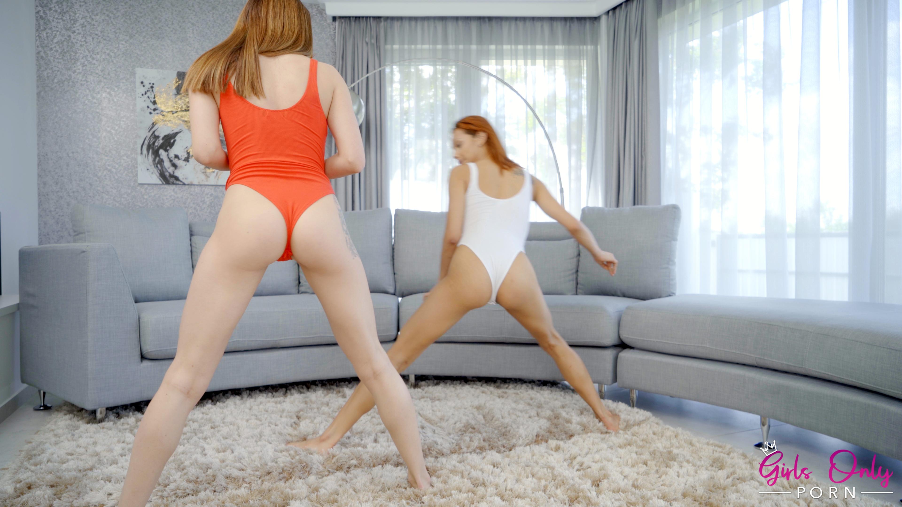 GirlsOnlyPorn.com - Alya Stark,Veronica Leal: My Yoga Instructor - S1:E2